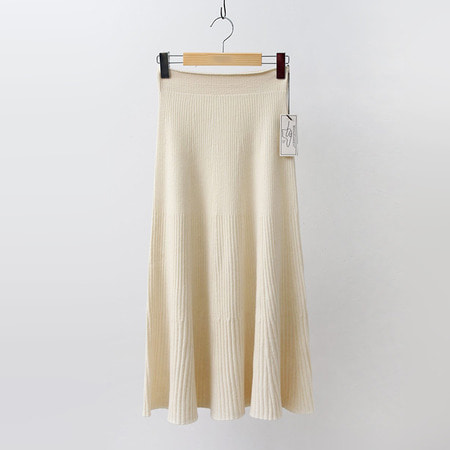 Hoega Cashmere Wool Long Skirt